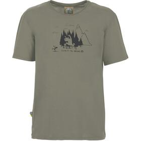 E9 Living Forest T-Shirt Men grey